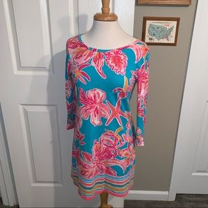Lilly Pulitzer Linden Shift Dress in Via Sunny